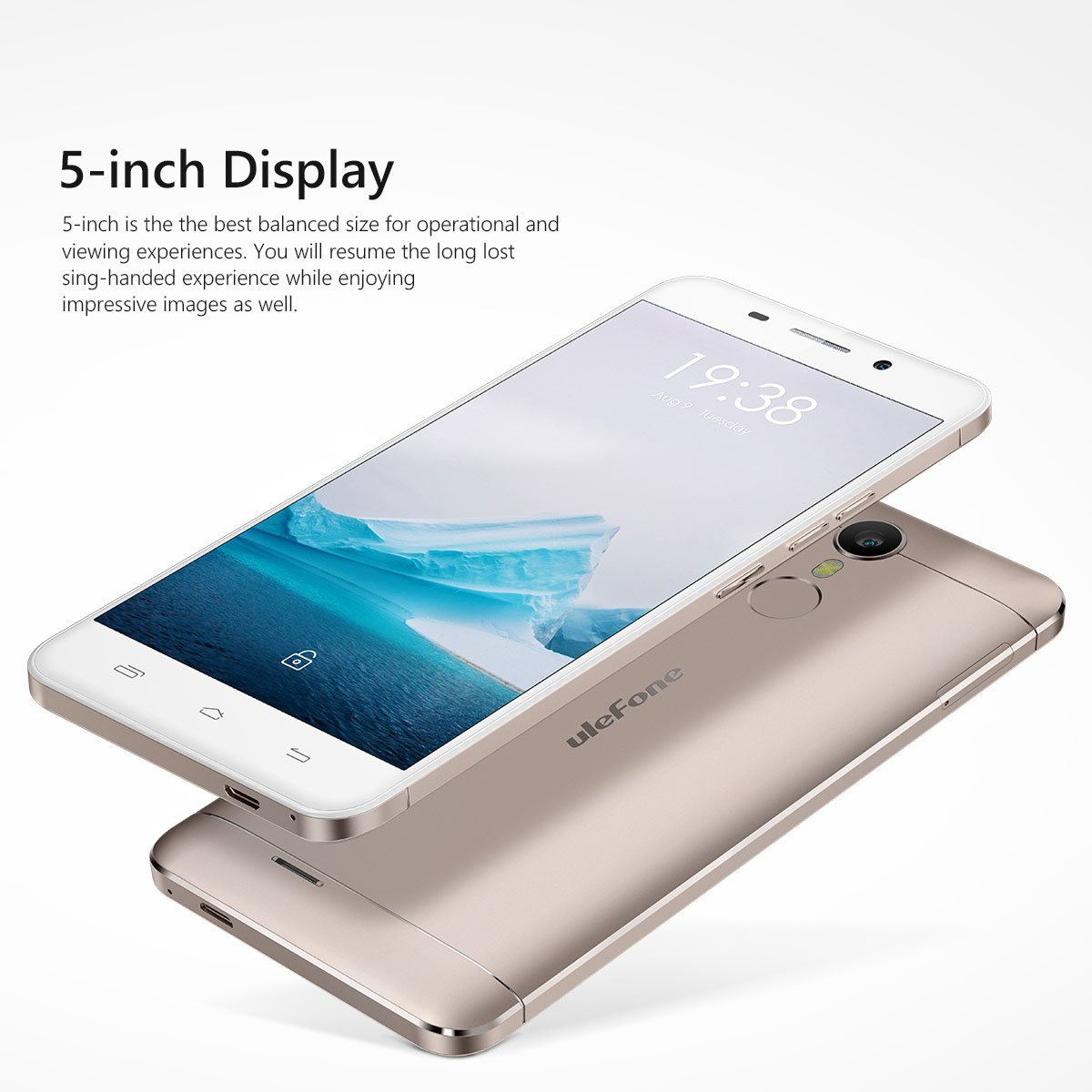 Ulefone Metal - Smartphone Libre Android 6.0 (4G Lte, Pantalla 5.0 ...