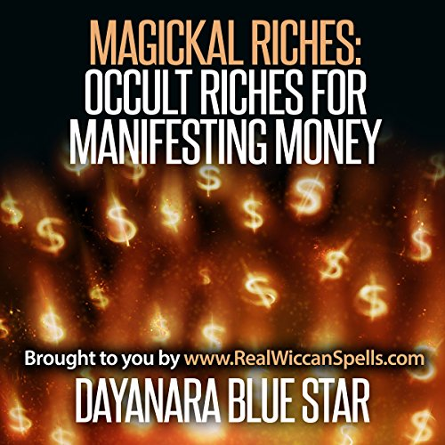 Magickal Riches audiobook cover art