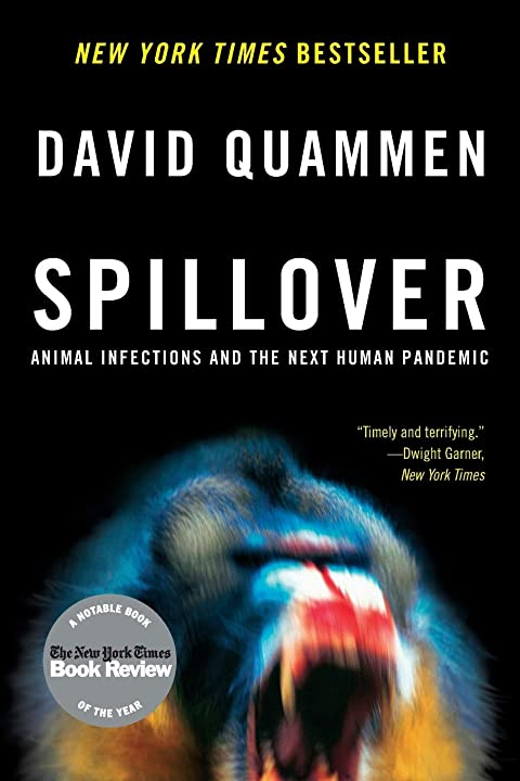 Book - spillover: animal infections and the next human pandemic (english) copertina flessibile 978-0393346619
