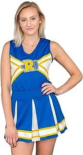 Riverdale Cheerleader V-Neck Tank & Skirt Costume Set