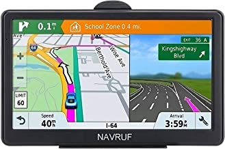 GPS Navigation for Car 7 Inch Car GPS Navigation System 8GB Voice Navigation with Lifetime Map Update Fast Location, Voice Trun-by-Turn Route Guidance, Speed Limit Reminder