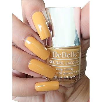 DeBelle Gel Nail Polish Yellow Topaz(Mustard Yellow Nail Polish), 8ml