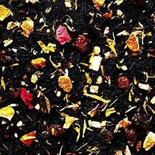 Schwarzer Tee lose Sylter Wintertee Mandeln, Orangen Johannisbeeren, Kokosnussflocken, Pfingstrosenblüten, Ringelblumen, Anis Schwarztee 250g