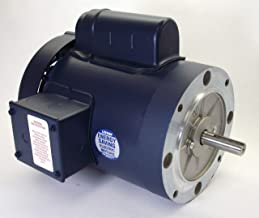 3/4 hp 1725 RPM 56C Frame TEFC C-Face (no base) 115/208-230 Volts Leeson Electric Motor # 110308