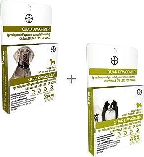 Bundle Bayer Quad Chewable Dewormer