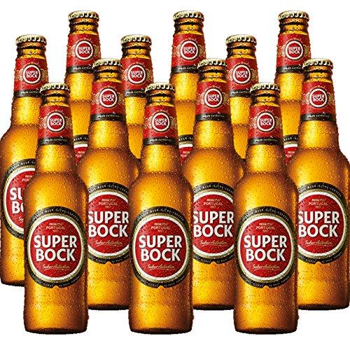 Super Bock - Das Kultbier aus Portugal (12x 0,33 l)