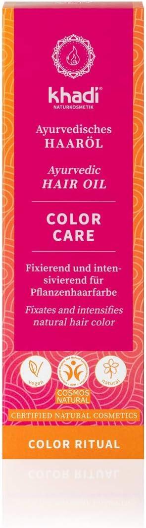 Khadi Aceite CAPILAR fijador del Color 50ml, Estándar, Único