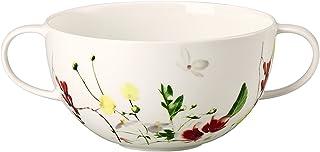 Rosenthal Brillance Fleurs Sauvages Taza de Consomé, Porcelana De Hueso, Multicolor, 15x15x5 cm