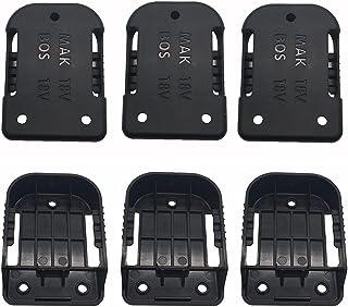 Sponsored Ad – Battery Mounts holder battery wall mount holder panel mount battery holder for Makita & for Bosch 18V batte...
