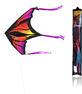Single Line Kite Game of Drogon Outdoor Flying 1.6 m Beginner-to-Intermediate 1 String Line with Handle Winder Storage Bag...