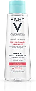 Vichy Pureté Thermale Mineral Micellar Water for Sensitive Skin, 6.76 fl. oz.