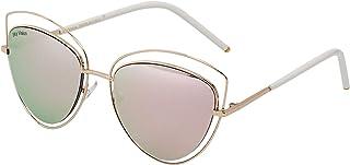 Sky Vision Cat Eye Sunglasses for Women, Pink Lens, AE10481