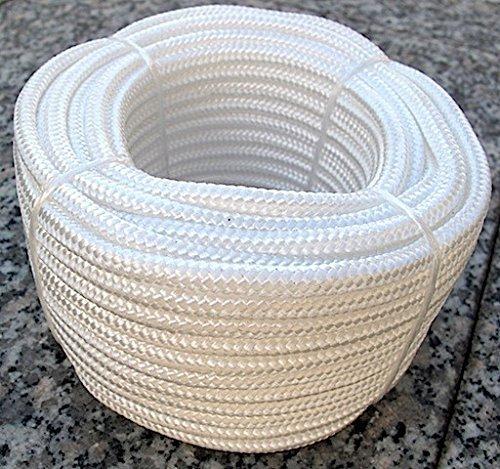 Kunststoffseil aus Polypropylen - weiss - 20 m x 6 mm