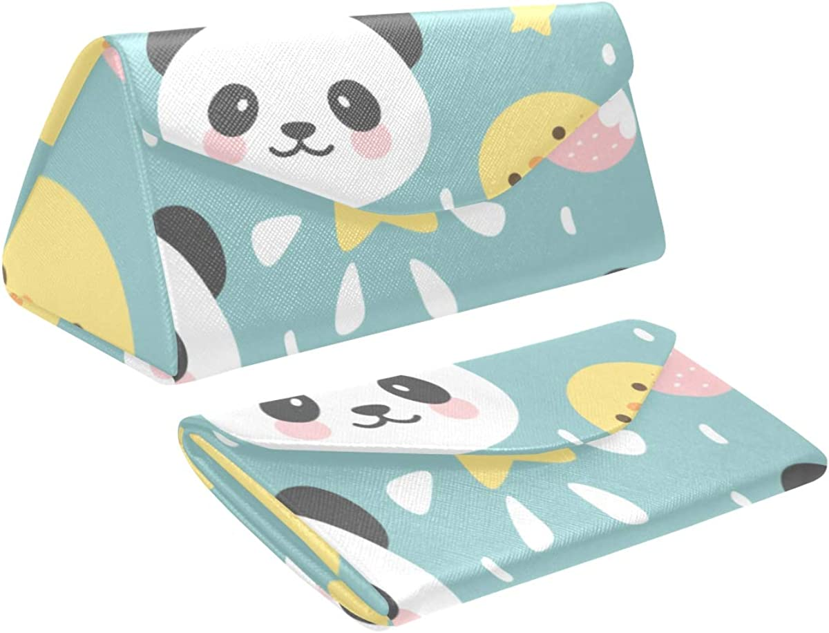 2021 autumn and winter new Foldable Max 55% OFF Sunglasses Holder For Women Face Carton Cute Anim Panda