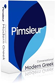 Pimsleur Greek (Modern) Conversational Course - Level 1 Lessons 1-16 CD: Learn to Speak and Understand Modern Greek with Pimsleur Language Programs (1)