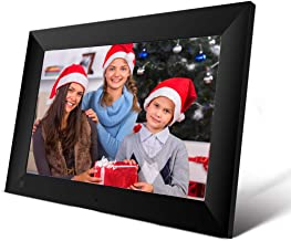 EMISH 10 Inch 16GB WiFi Digital Photo Frame with 800x1280 HD IPS Touch Screen Display, Share Photos and Videos from Your Phone to The Smart Picture Frame with The Frameo APP from Anywhere