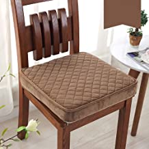 Chair Cover, Sponge Thick Chair pad,Soft Cloth Tatami Raise Height Seat Cushions Non-Slip Home Office Chair Comfort Cushio...