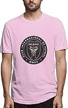 HZIJUE Austin FC Men's Primary Logo Comfortable Fashion Short Sleeve T-Shirt
