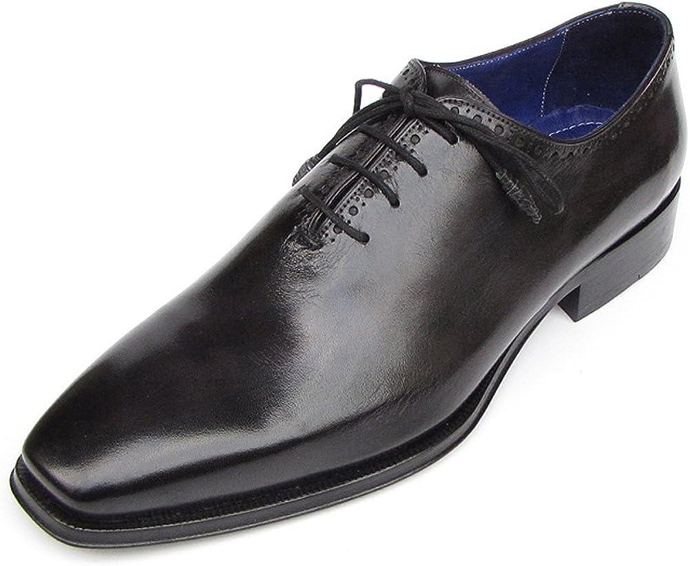 Paul Parkman Mens Plain Toe Oxfords Whole Cut Black