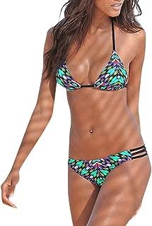 Luckycat Traje de baño Traje De Baño De Mujer, Mujer una Pieza de Impresión Atractivo Bikini Mono Sexy Verano Trikini brasileño bañadores natación Mujer 2019 Deportivos Biquinis