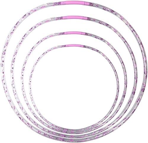 Hula Hoop mit LED, 4 Stk.  6,72,76,82 cm