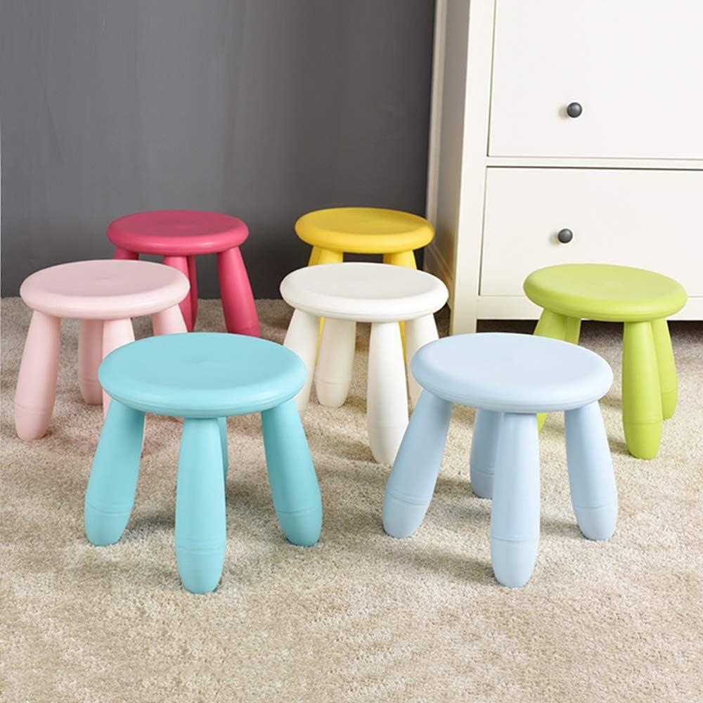 produits menagers Petit Banc, Tabouret/Tabouret en Plastique/Chaise pour Enfant/Tabouret Bas/Tabouret pour Enfant - Multicolore en Option G