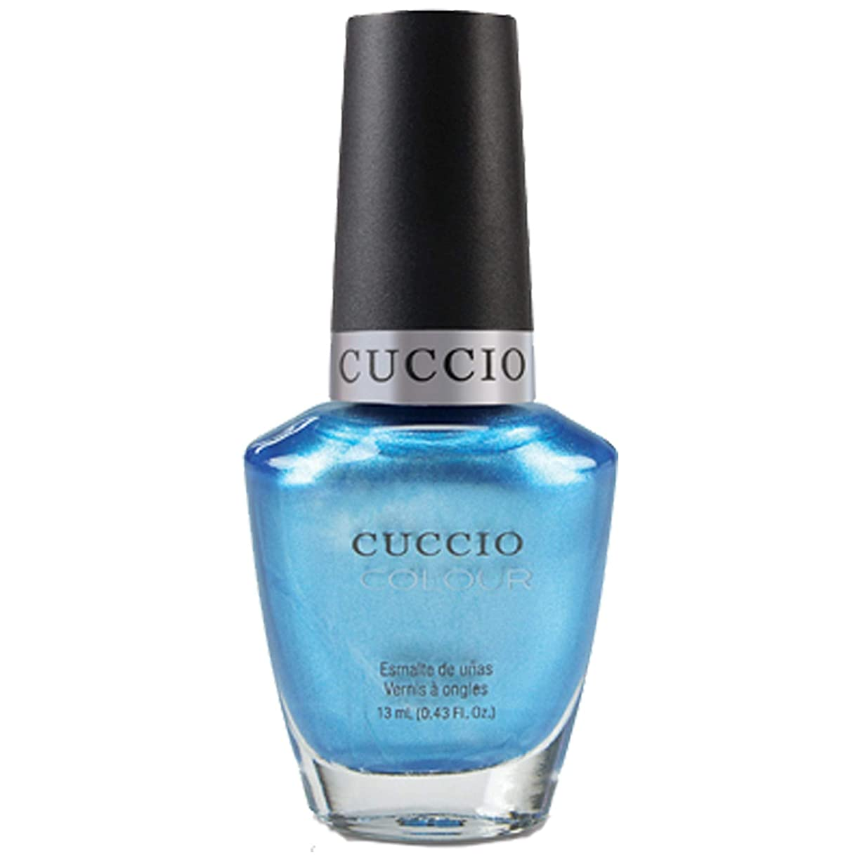 大惨事刺すメカニックCuccio Colour Gloss Lacquer - Making Waves - 0.43oz / 13ml
