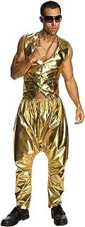 Gold MC Hammer Parachute Pants