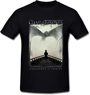 Game of Thrones 5 Vengence is Coming T-Shirt for Men Black