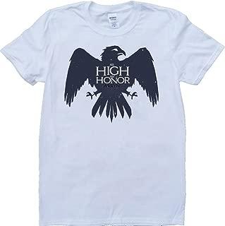 Game of Thrones House Arryn As High As Honour Short Sleeve Custom Made T-Shirt