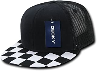 Best black and white checkered hat Reviews
