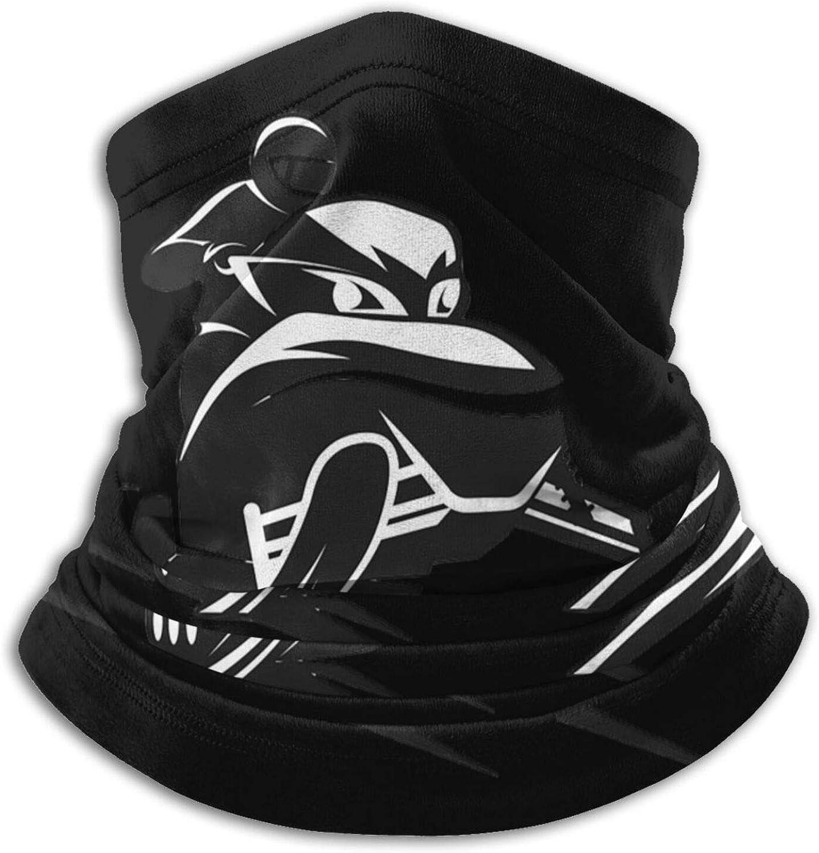 Winter Neck Gaiter Warmer Soft Face Mask Scarf Snowmobile Outdoor Sports Neck Warmer Headwear for Men Women Black