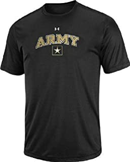 Under Armour Army Black Knights Black HeatGear NuTech Performance Shirt
