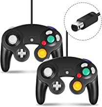 Gamecube Controller, CIPON 2 Pack Wired Controllers for...