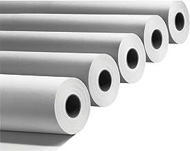 Canson Confezione 4 Rotoli Plotter cm 91,4x50 mt 90 gr//mq Anima 50 Carta Bianca A0compatibili per HP e EPSON STYLUS
