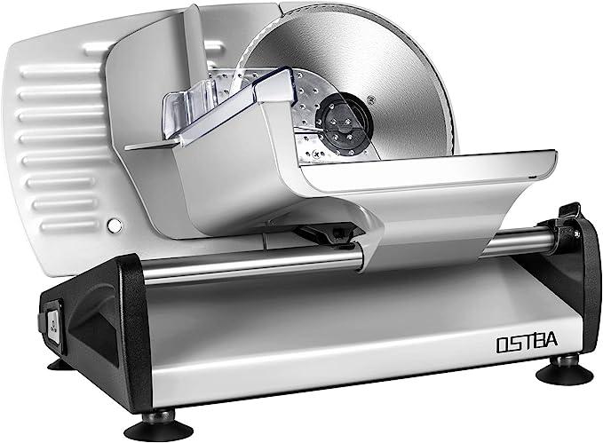 OSTBA Meat Slicer Electric Deli Food Slicer - Easy To Clean