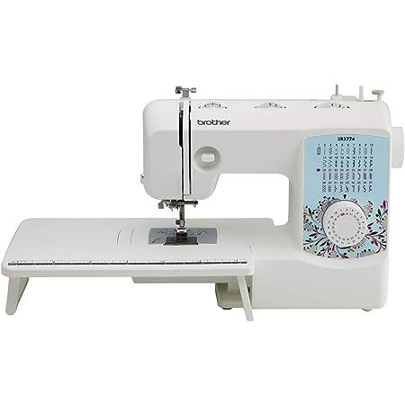 Brother XR3774 Maquina para coser y acolchado completa con 37 puntadas, 8 pies prensatelas, amplia mesa y un DVD de instrucciones.