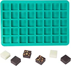 Webake Candy Mold Chocolate Silicone Molds 40-Cavity Caramels Candy Tray, Ice Cube Tray Molds, Brownie Squares Baking Molds for Making Homemade Caramel, Hard Candy, Chocolate, Fat Bomb, Praline, Gummy
