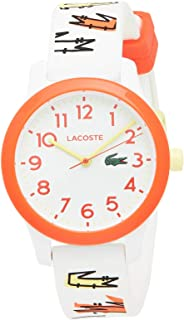 Lacoste Unisex-Child Quartz Watch, Analog Display and Silicone Strap 2030018