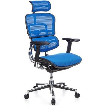 hjh OFFICE 653720 chaise de bureau, siège pivotant CAYEN