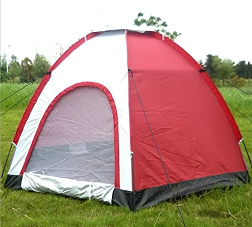 Tentes de Plage Prougeection UV Hexagon Loisirs de Plein air Tourisme Tentes de Camping 5-6 Personnes Tentes extérieures ZXCV