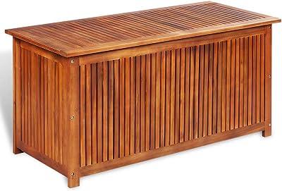 Peachy Amazon Com Poolside Storage Box Mocha 99 Gallon All Ibusinesslaw Wood Chair Design Ideas Ibusinesslaworg
