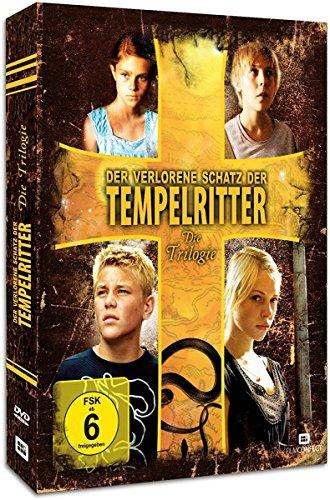 Der verlorene Schatz der Tempelritter - Die Trilogie [3 DVDs]