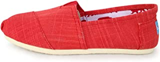 ZOSYNS Damesschoenen, vrijetijdsschoenen voor dames, stoffen schoenen, canvas, trendy, slip-on schoenen, outdoorschoenen, ...