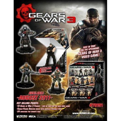 Gears of War Heroclix Counter Top Display of 24 Random Figures