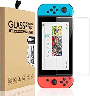 Screen Protector Tempered Glass for Nintendo Switch 9H Hardness Transparent HD Clear Anti-Scratch Screen Protector