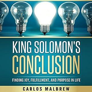 King Solomon's Conclusion audiobook cover art