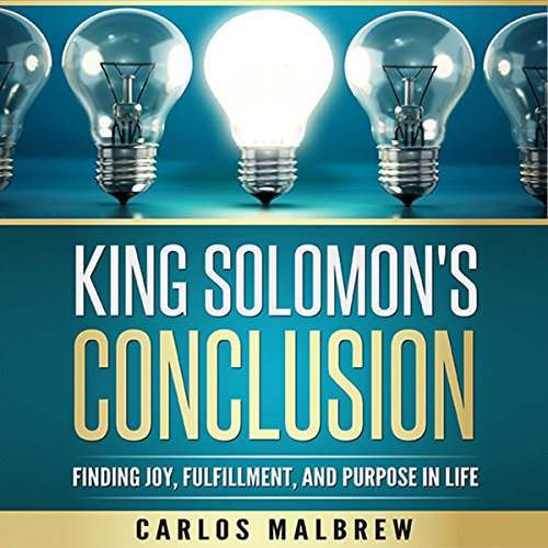 King Solomon's Conclusion audiobook cover art