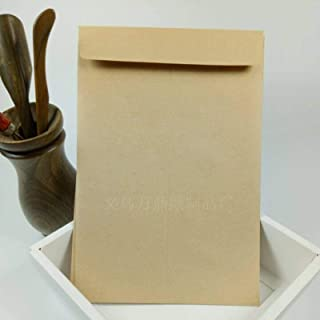 Brown Kraft Paper Envelopes for Greeting Cards and Invitation Announcements Office Stationery Thick Brown Envelopes for In...