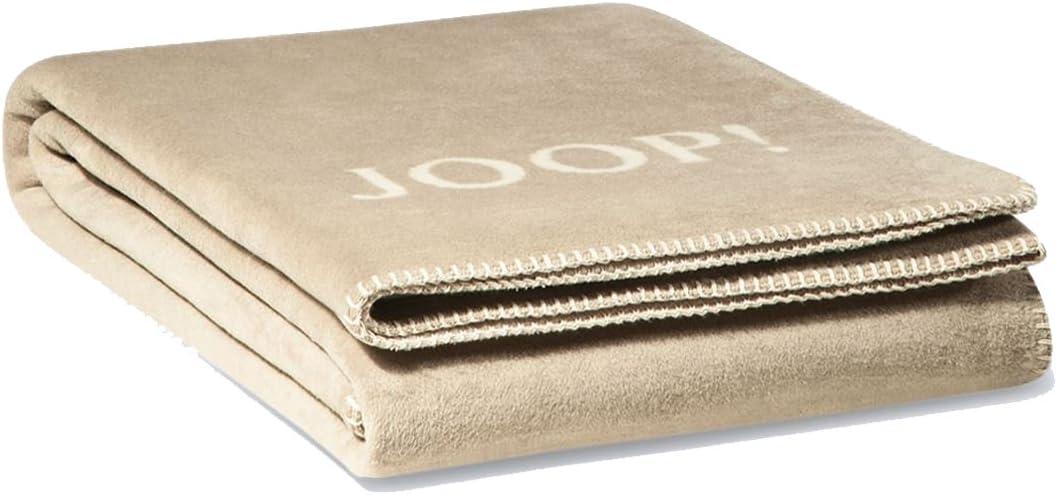Joop Ceiling Living Blanket Melange Doubleface Sand-Natural 716330 150x200cm Tip!